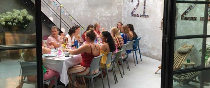 21 diner Den Bosch