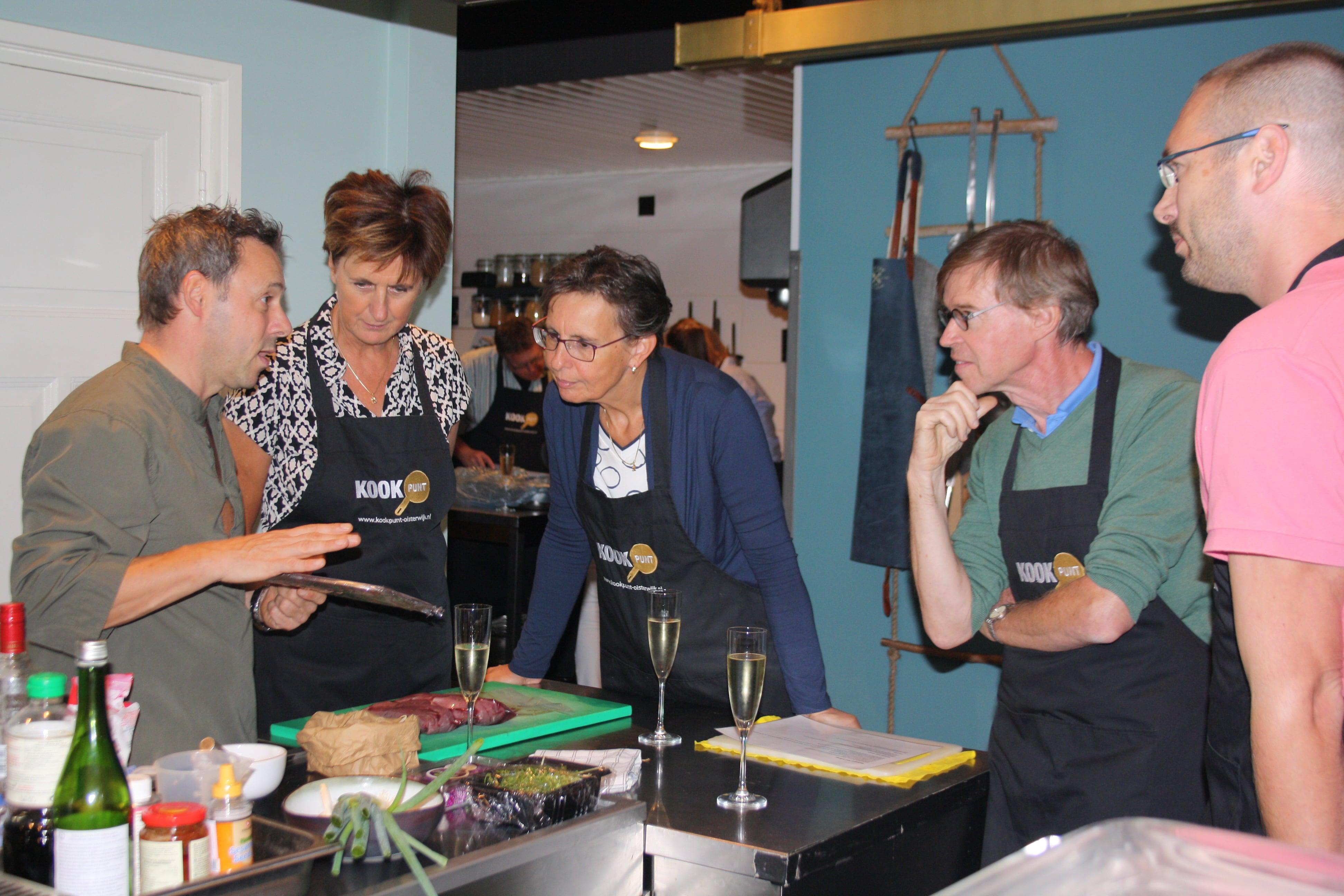 Kookworkshop Oisterwijk kookles