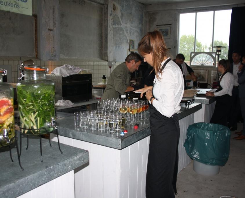 Catering borrel personeelsfeest