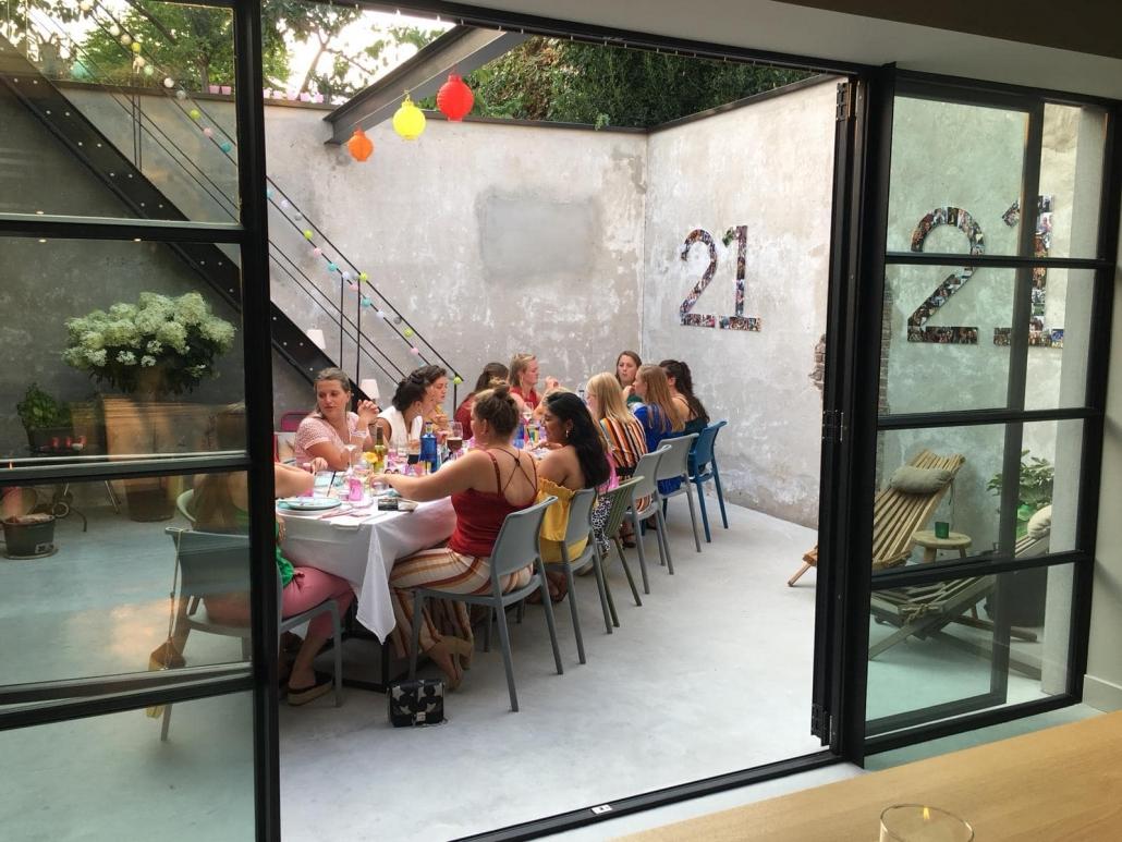 21 diner Oisterwijk