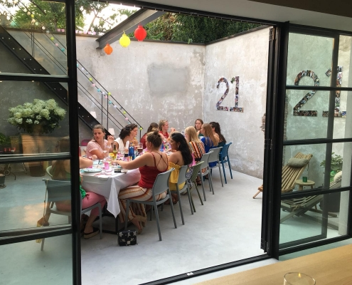 21 diner / Sweet 16 Oisterwijk
