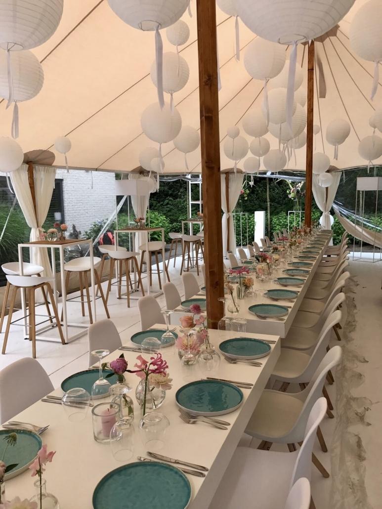 Bruiloft / huwelijksfeest tent Tilburg