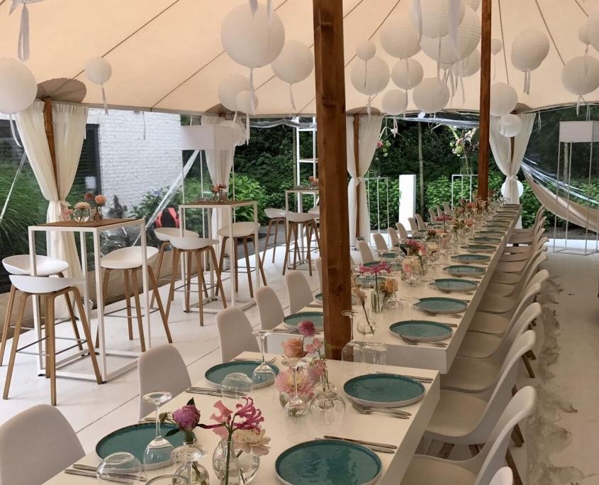 Bruiloft / huwelijksfeest tent