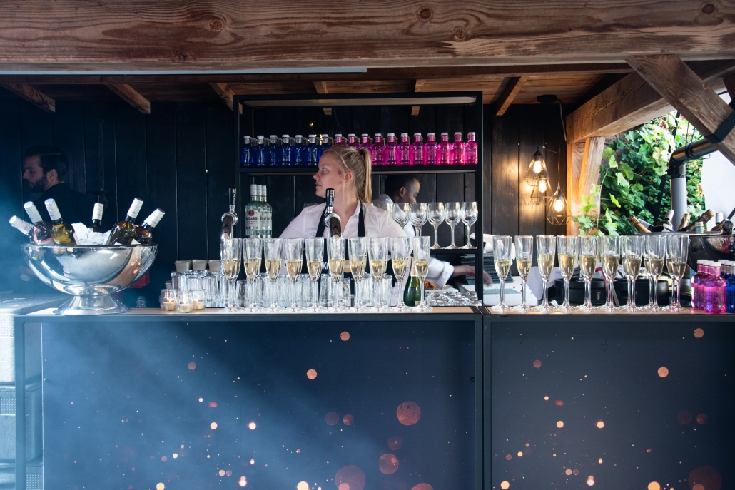 Bar tuinfeest Tilburg