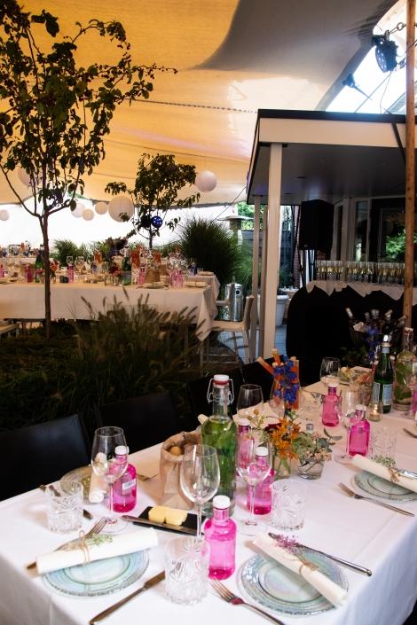 Diner in tuin Oisterwijk